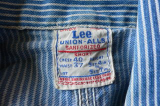Lee union-alls